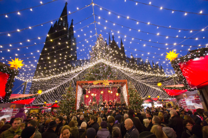 German Christmas Market - Cologne Germany