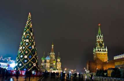 Christmas Tree on Moscow's Red Square